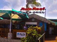 Get drinks and a bite at Rum Reef